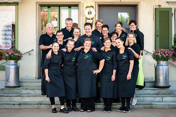Teamfoto Hirschen Metzg